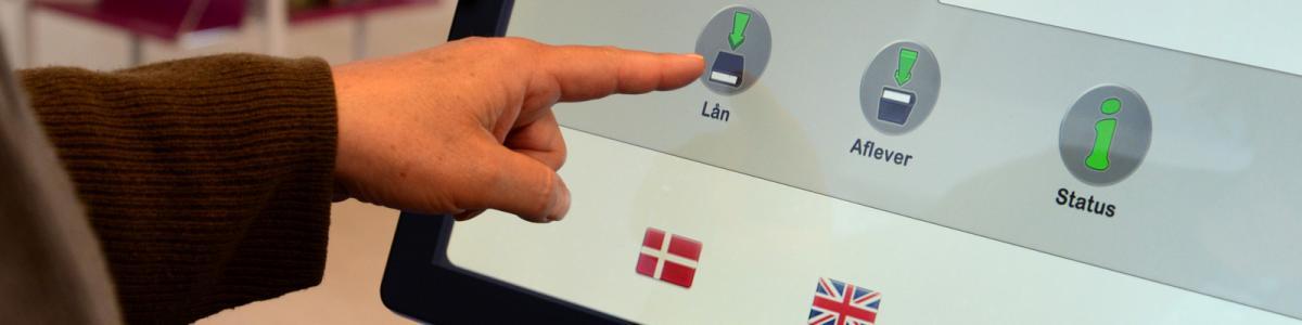 PIN-koden skal bl.a. bruges, når du låner